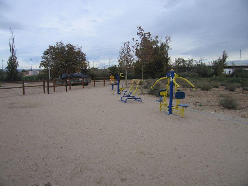 Estación gimnasia IDE Lago Rosales del Canal