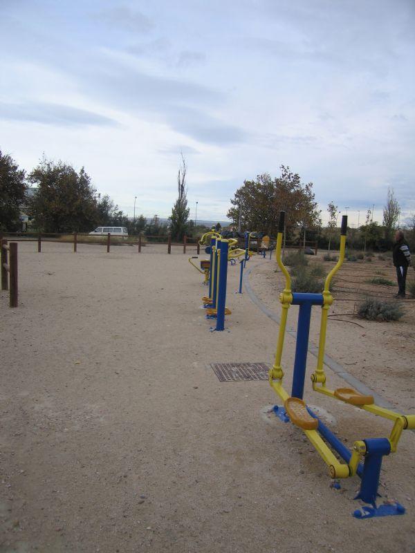 Estación gimnasia IDE Lago Rosales del Canal [Fecha: 14/11/2011]