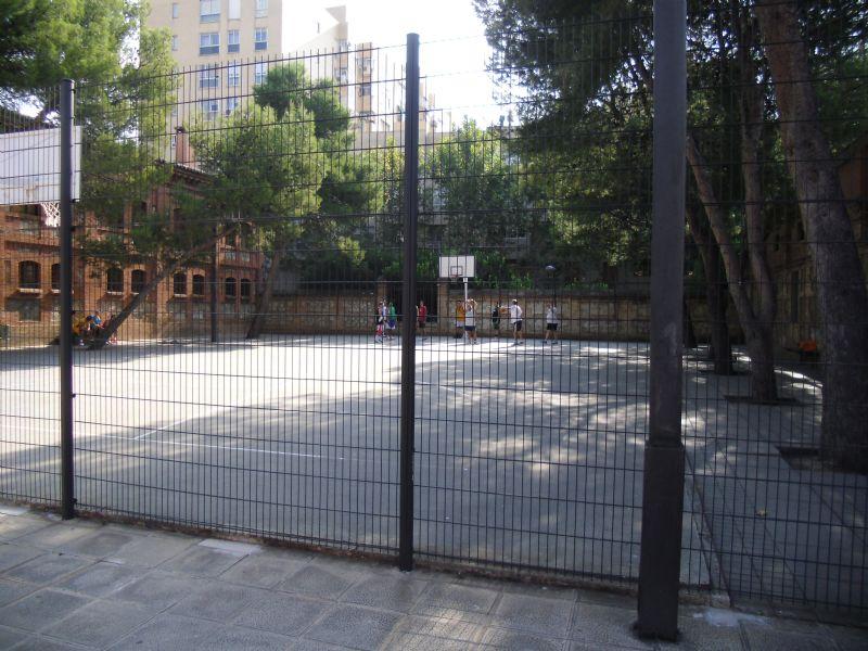 Estado cerramiento, Baloncesto IDE C.Cívico Salvador Allende  [Fecha: 07/11/2011]