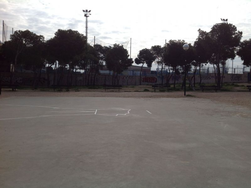 Baloncesto IDE Parque Calle Oviedo/ Avenida América