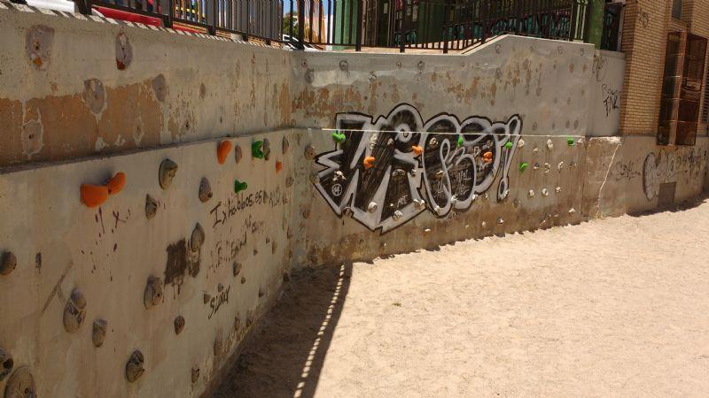 Rocódromo IDE Parque de la Memoria