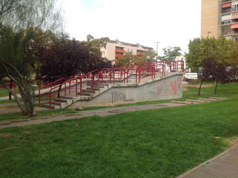 zona de escaleras [Fecha: 03/10/2016]