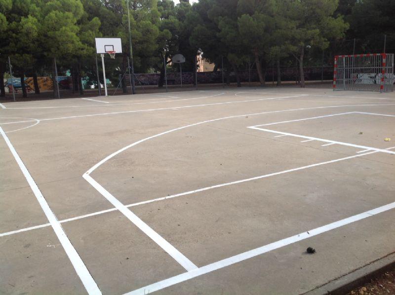 Baloncesto IDE Parque Castillo Palomar