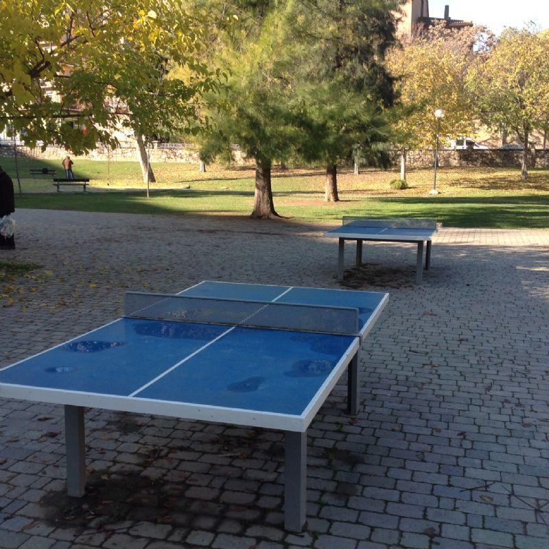 Tenis de mesa antivandalica Parque Bruil 2