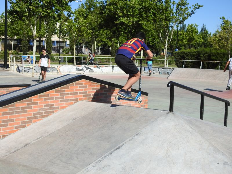 Skater en la zona del hip [Fecha: 03/07/2017]