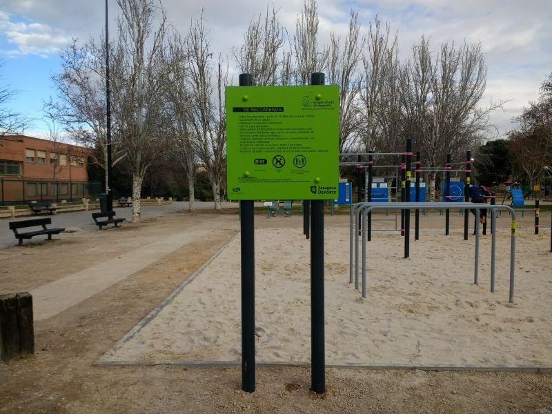 Cartel IDE Street Workout Parque Torre Ramona [Fecha: 07/02/2018]