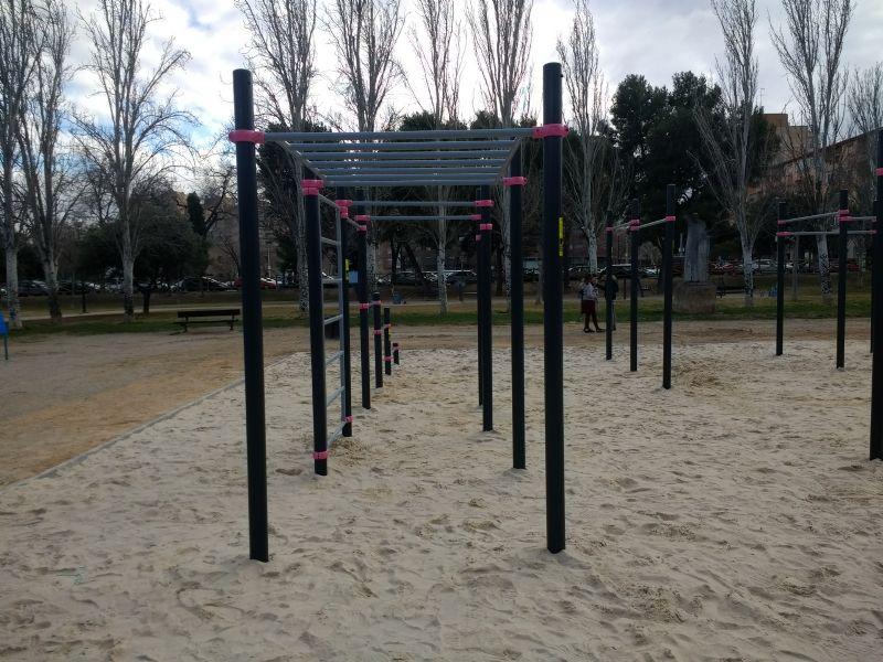 Elemento de la IDE Street Workout Parque Torre Ramona [Fecha: 07/02/2018]