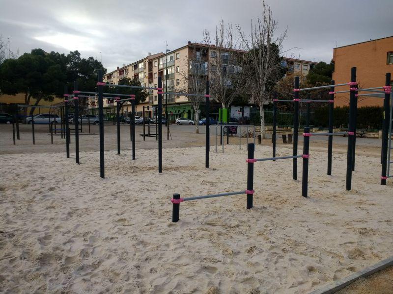 Perspectiva general de la IDE Street Workout Parque Torre Ramona [Fecha: 07/02/2018]