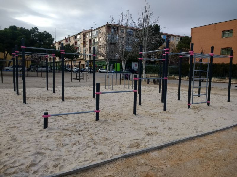 IDE Street Workout Parque Torre Ramona
