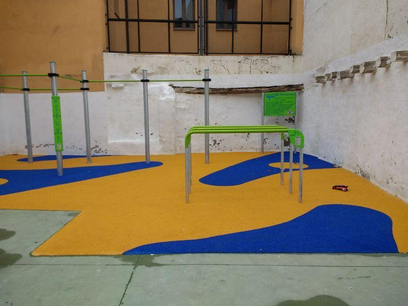 Street Workout IDE Casta Alvarez