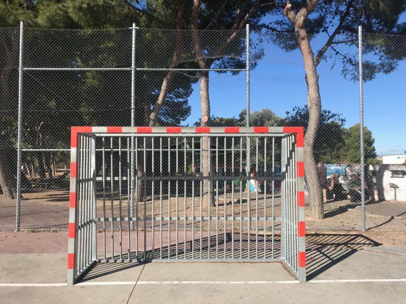 Porterías anti vandálicas [Fecha: 09/11/2018]