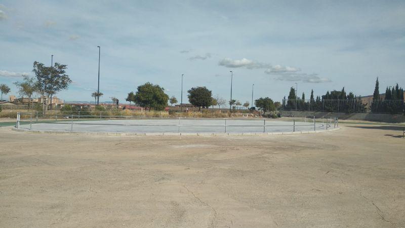 Nuevo pavimento y cerramiento pista patinaje [Fecha: 19/10/2020]