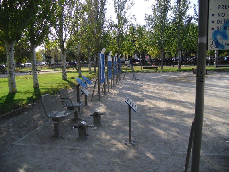 Estación de gimansia IDE Parque Torre Ramona