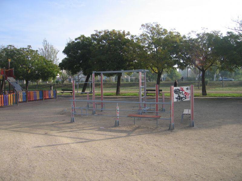 Estacion gimnasia IDE Parque de los Poetas  [Fecha: 18/11/2011]