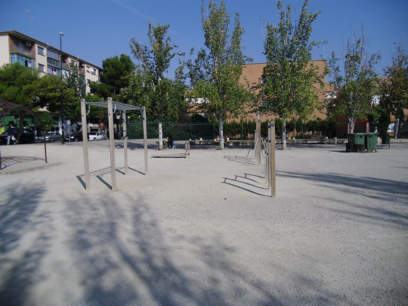 Estación de Gimnasia IDE Parque Torre Ramona