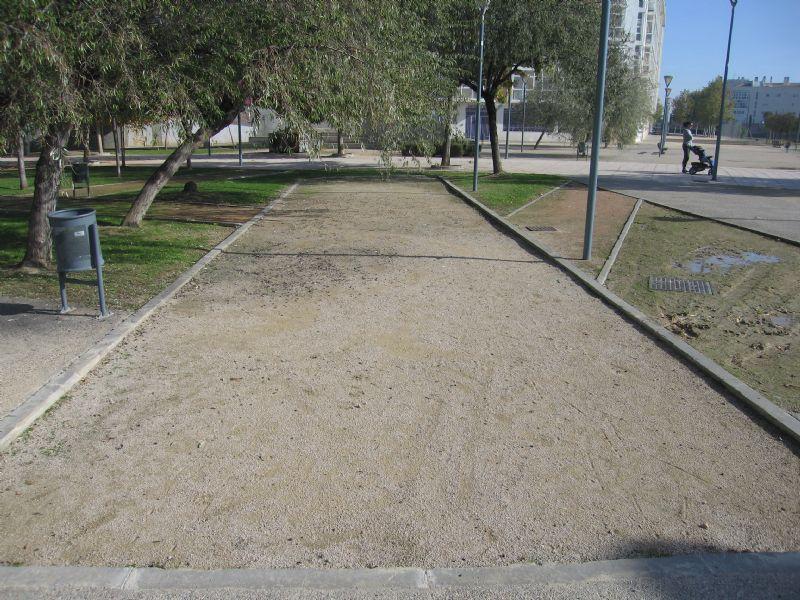 Petanca nº 1 IDE Parque Tapices de Goya