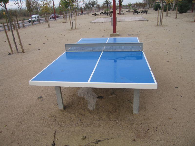 Tenis de mesa IDE Parque de la Alameda