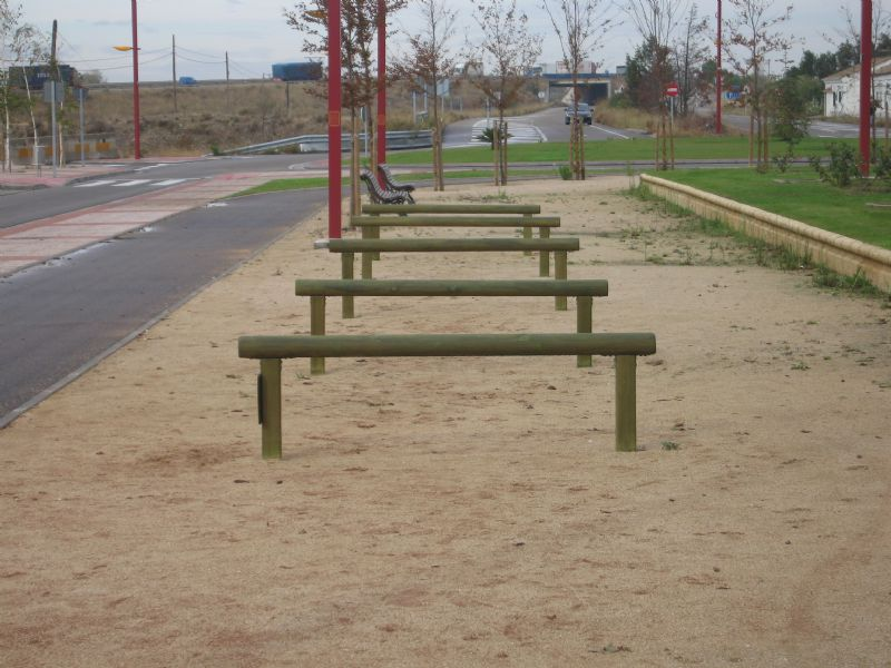 Estación gimnasia IDE Parque de la Alameda