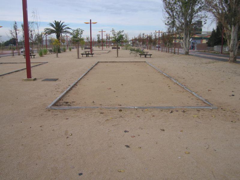 Petanca nº 1 IDE Parque de la Alameda
