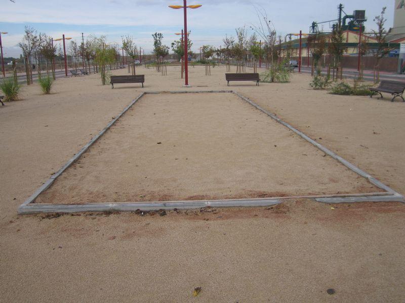 Petanca nº 3 IDE Parque de la Alameda