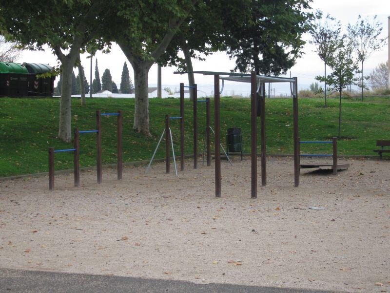 Estación gimnasia IDE Parque Clemente Mateo [Fecha: 21/11/2011]