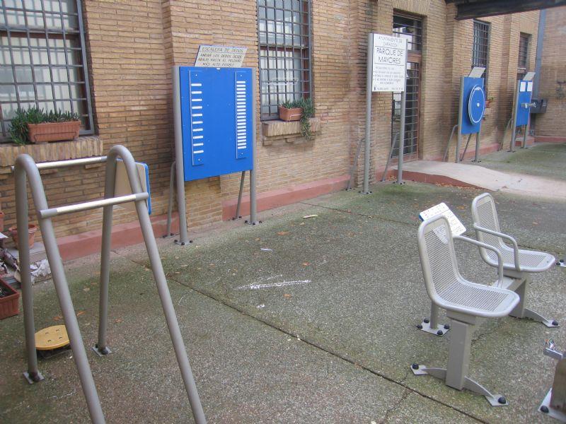 Estación gimnasia IDE Junta Municipal Monzalbarba