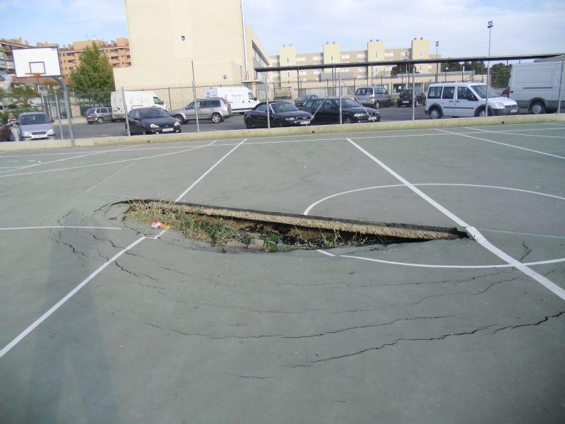 Baloncesto IDE Calle El Coloso [Fecha: 22/11/2011]