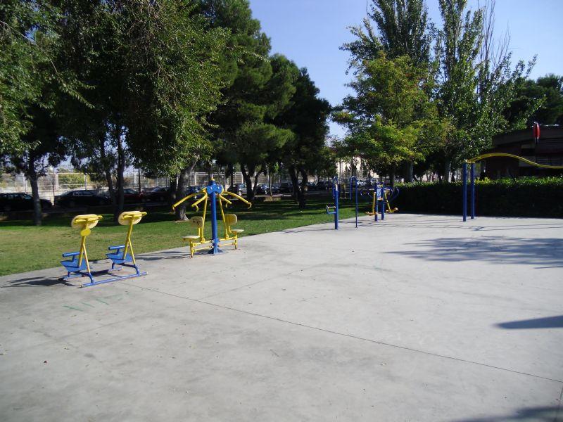 Estacion gimnasia IDE Parque La Granja