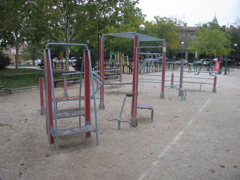 Estación gimnaisa IDE Jardines García Laborda [Fecha: 22/11/2011]