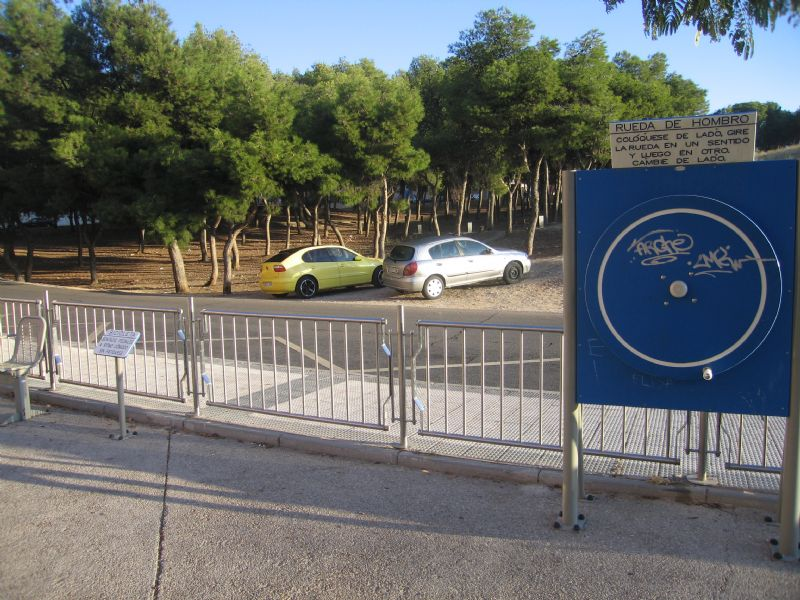 Estación gimnasia IDE Alarife Marien de Marguán