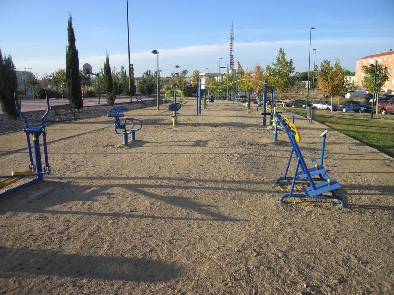 Estación gimnasia IDE Parque Crónica del Alba  [Fecha: 24/11/2011]