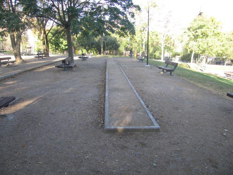 Deportes tradicionales pista nº 1  IDE Parque la Paz