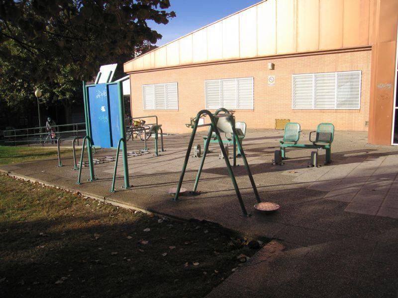 Estación gimnasia IDE Calle Monzón