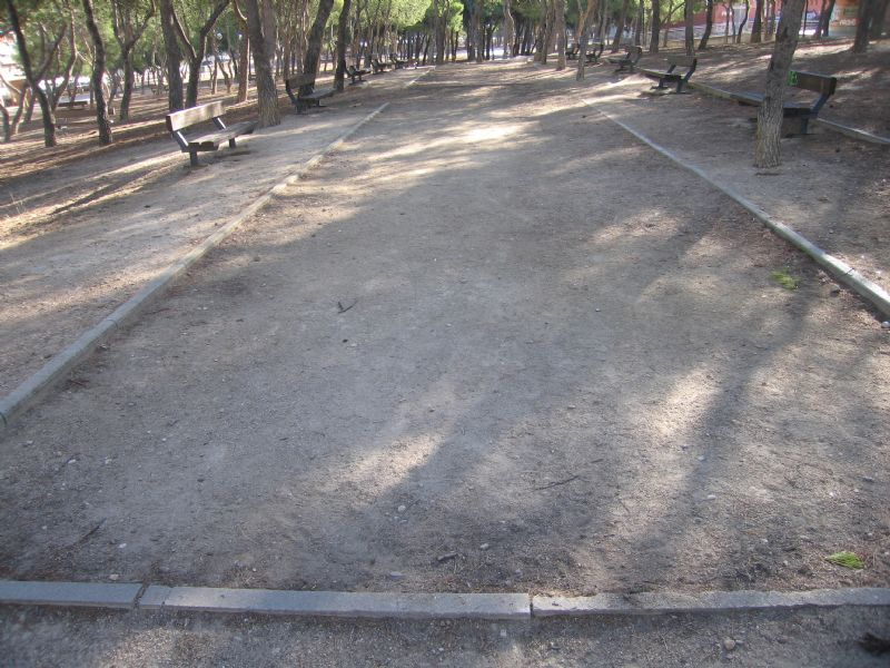 Petanca nº 1  IDE Parque Calle Oviedo/ Avenida América