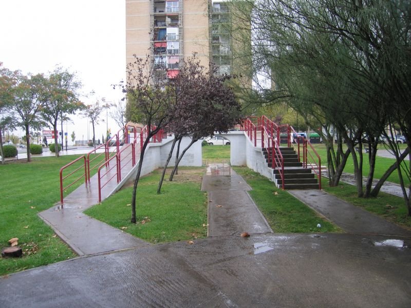 Estación gimnasia senior IDE Parque de la Sedetania