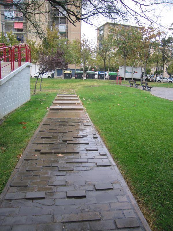 Estación gimnasia senior IDE Parque de la Sedetania [Fecha: 28/11/2011]