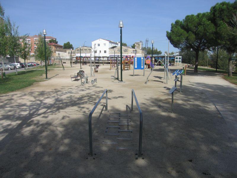 Estación gimnasia IDE Rio Perejiles