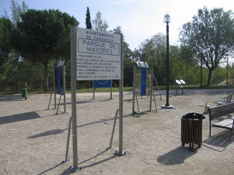 Estación gimnasia IDE Ribera del Gállego [Fecha: 29/11/2011]
