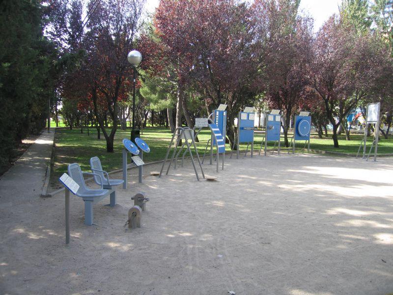 Estación Gimnasia  IDE Plaza las Vaquillas