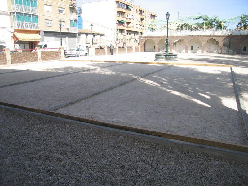 Petanca nº 4 IDE Plaza las Vaquillas