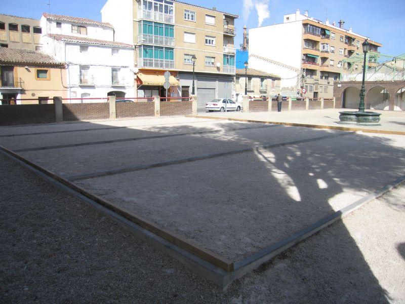 Petanca nº 6 IDE Plaza las Vaquillas