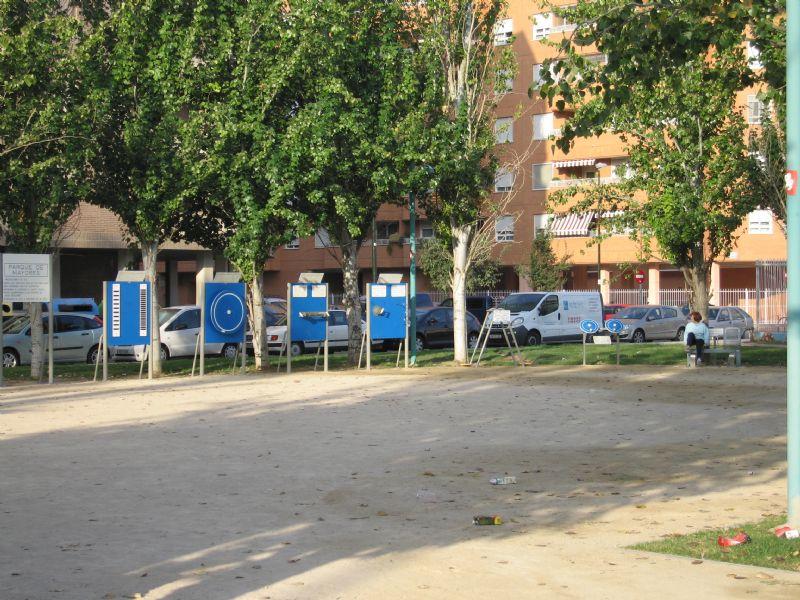 Estación gimnasia IDE Sierra de Vicor