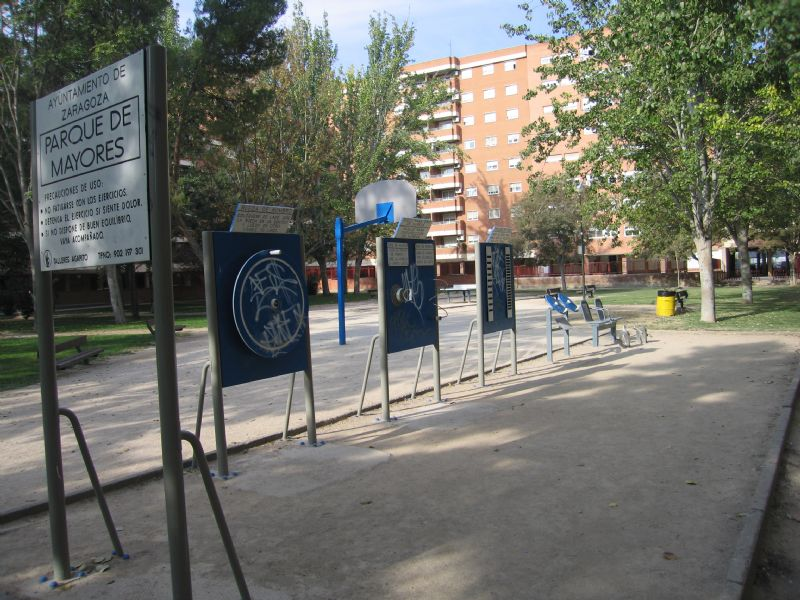 Estación gimnasia IDE Jardines de Lisboa