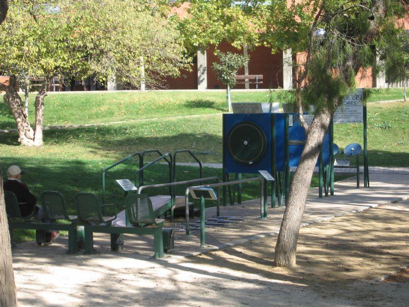 Estación gimnasia IDE Parque Bruil