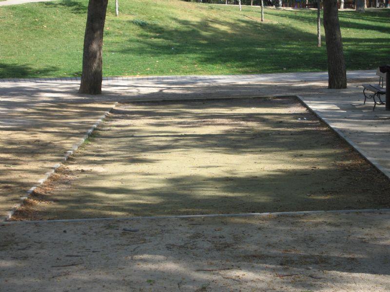 Petanca IDE Parque Bruil