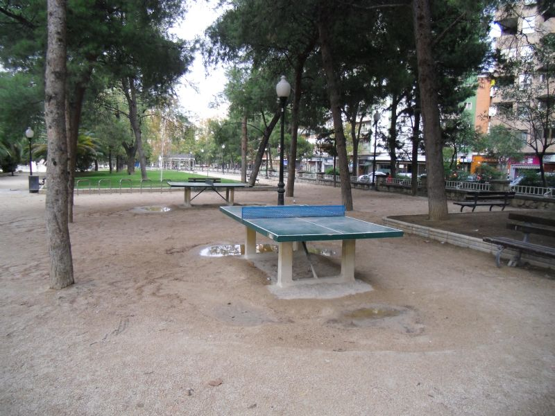 Tenis de mesa nº 1 IDE Parque Pignatelli