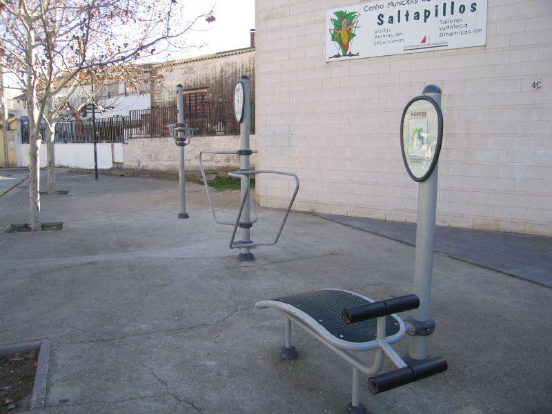 Estación gimnasia IDE Nuestra Señora de Loreto