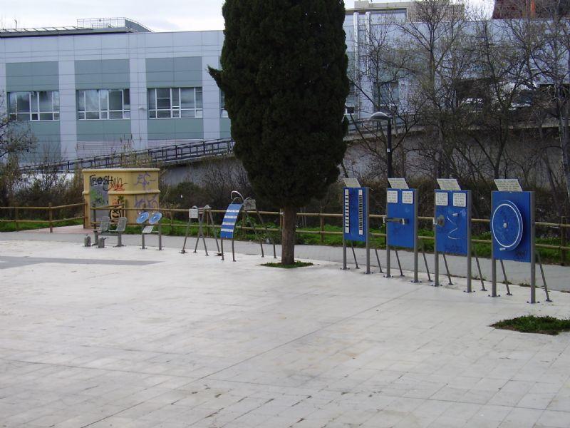 Estación de Gimnasia