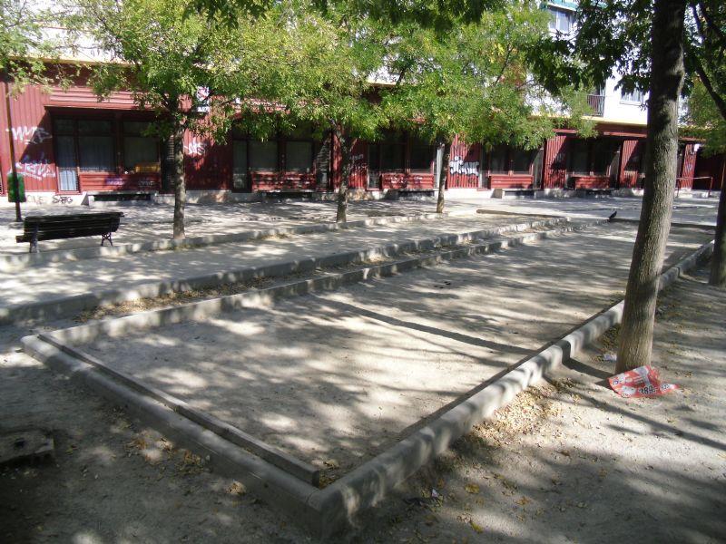 Petanca nº 1 IDE Parque de la Memoria