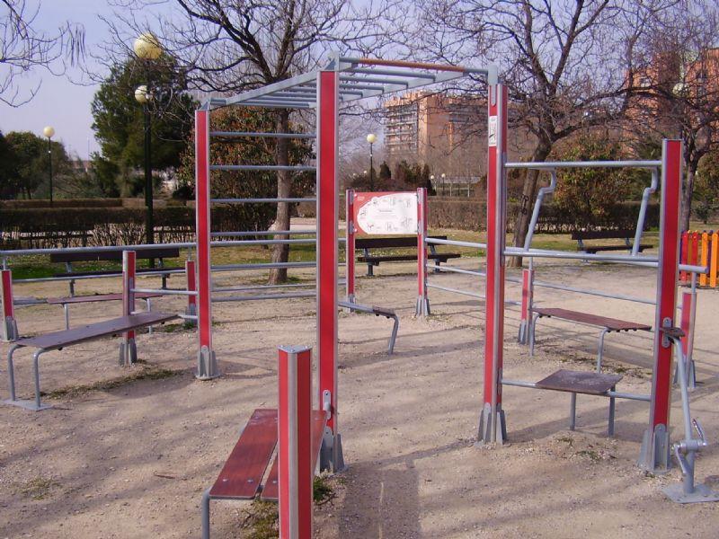 Gimnasia de mantenimiento senior IDE Parque Oliver